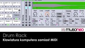 Klawiatura komputerowa zamiast MIDI