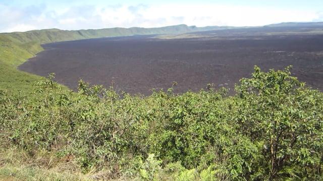 Caldera on Isabela Island, Galapagos: Part 1