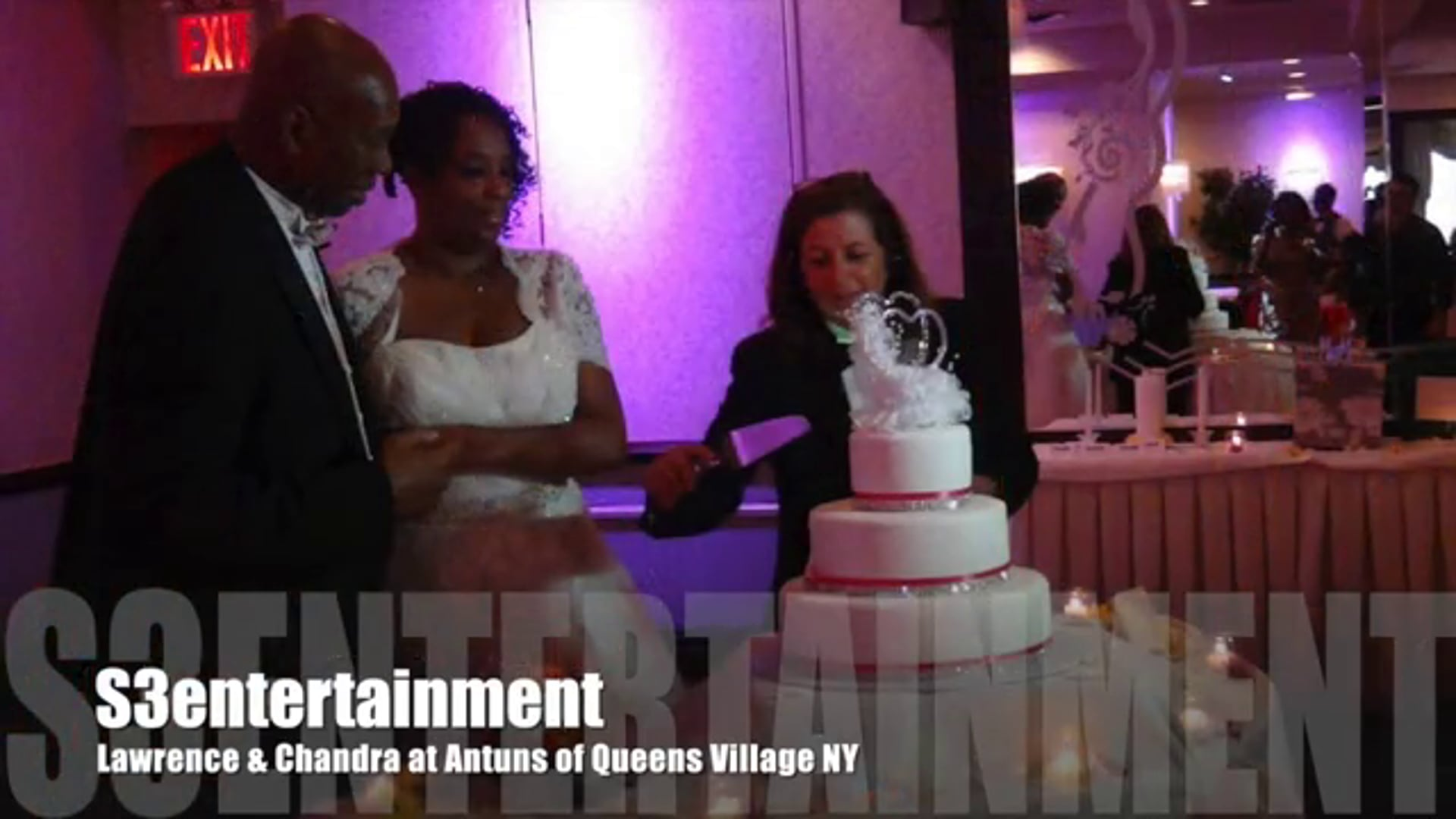 Lawrence & Chandra Wedding Reception @Antuns of Queens NY - October 11, 2014