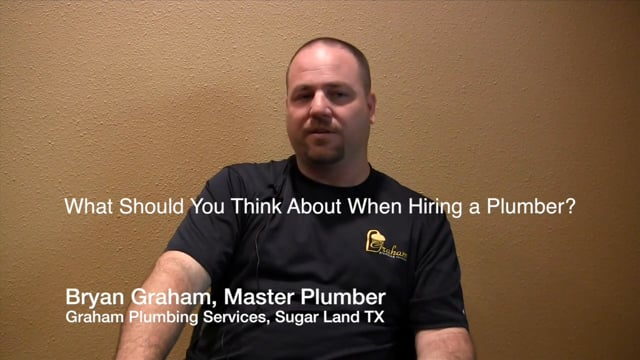 Considerations in Hiring a Plumber