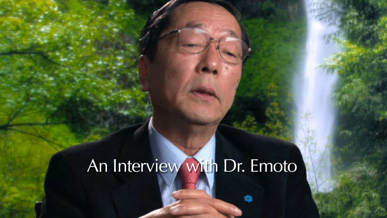 Dr. Emoto from What the BLEEP: Down the Rabbit Hole