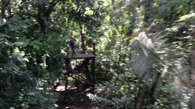 Zipline in Amazonia - Annie