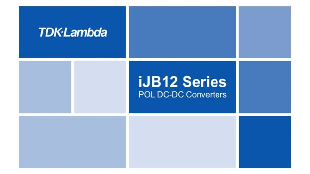 iJB 60A DC-DC Non-isolated SMT POL with PMBusTM Video