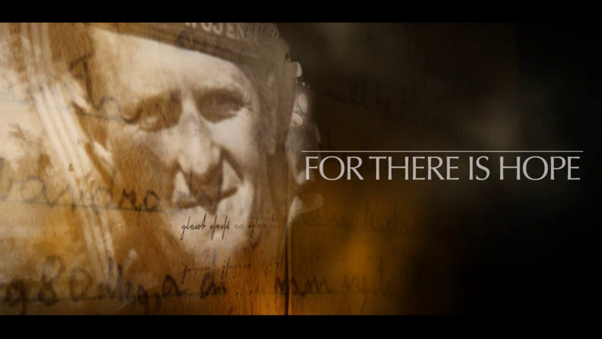 For there is hope. Jan Stepek story | Oahu Films