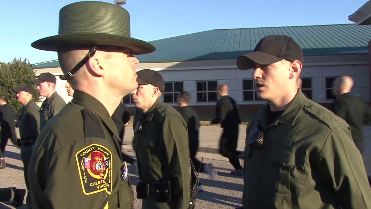 Recruiting video for the Chesterfield County Police Department