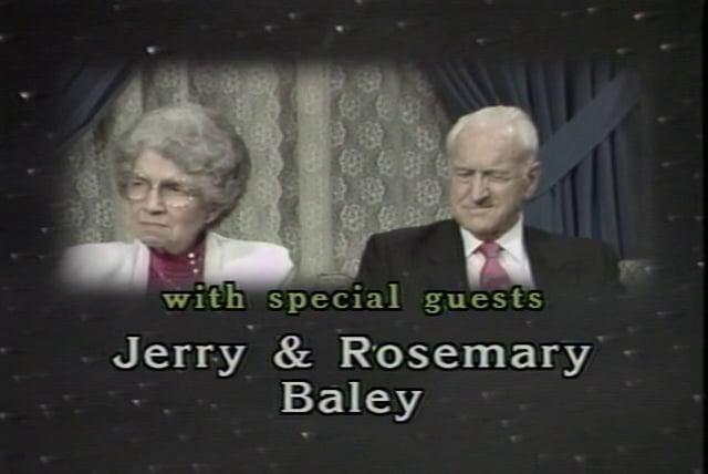 Jerry & Rosemary Baleys