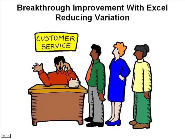 Breakthrough Improvement Excel Process Deviation