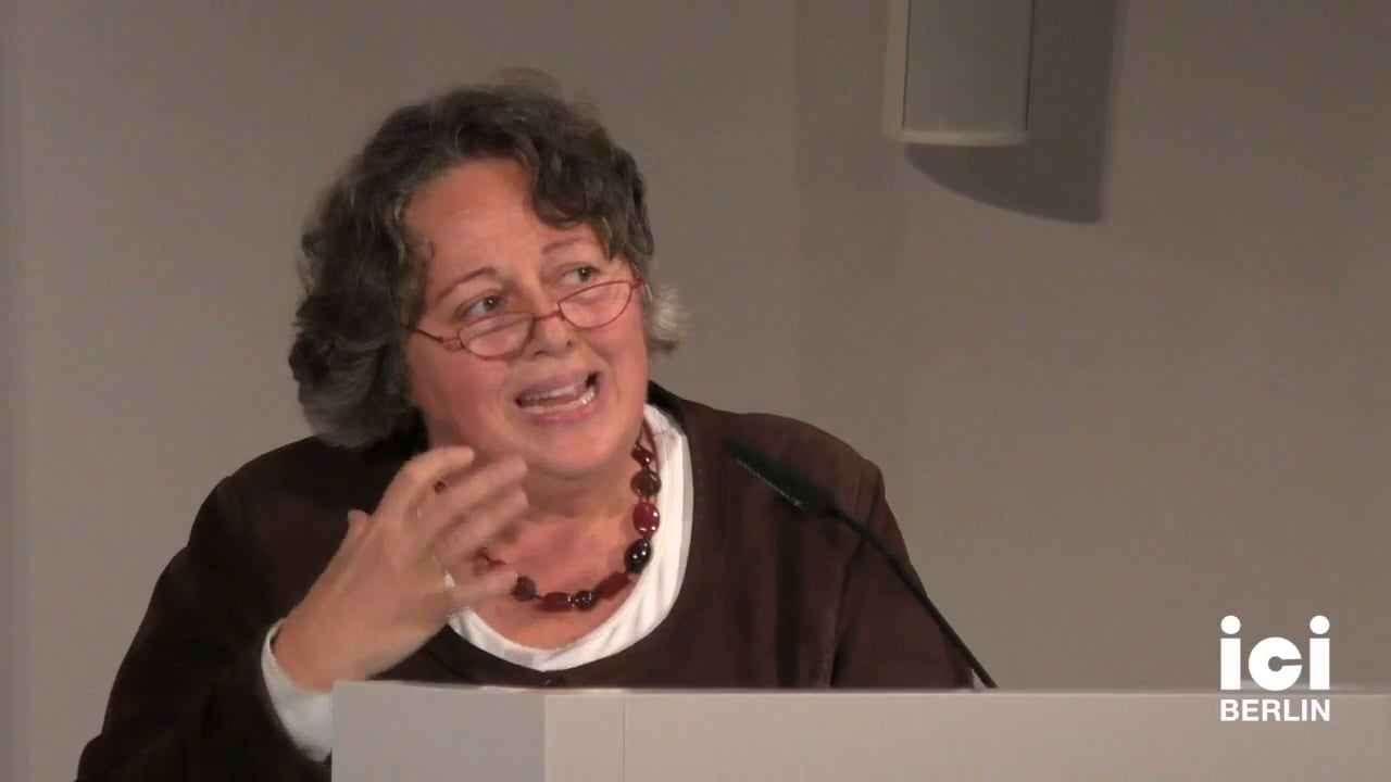Talk by Rosi Braidotti [2]