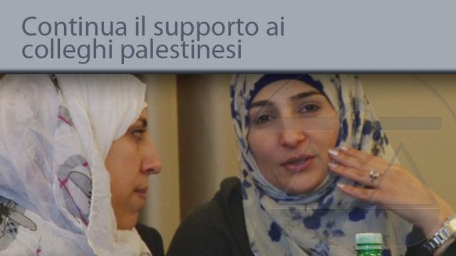 Continua il supporto ai colleghi palestinesi - 30/10/2014