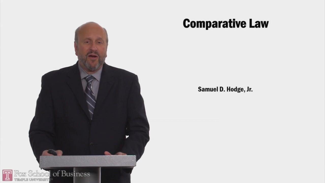 58143Comparative Law