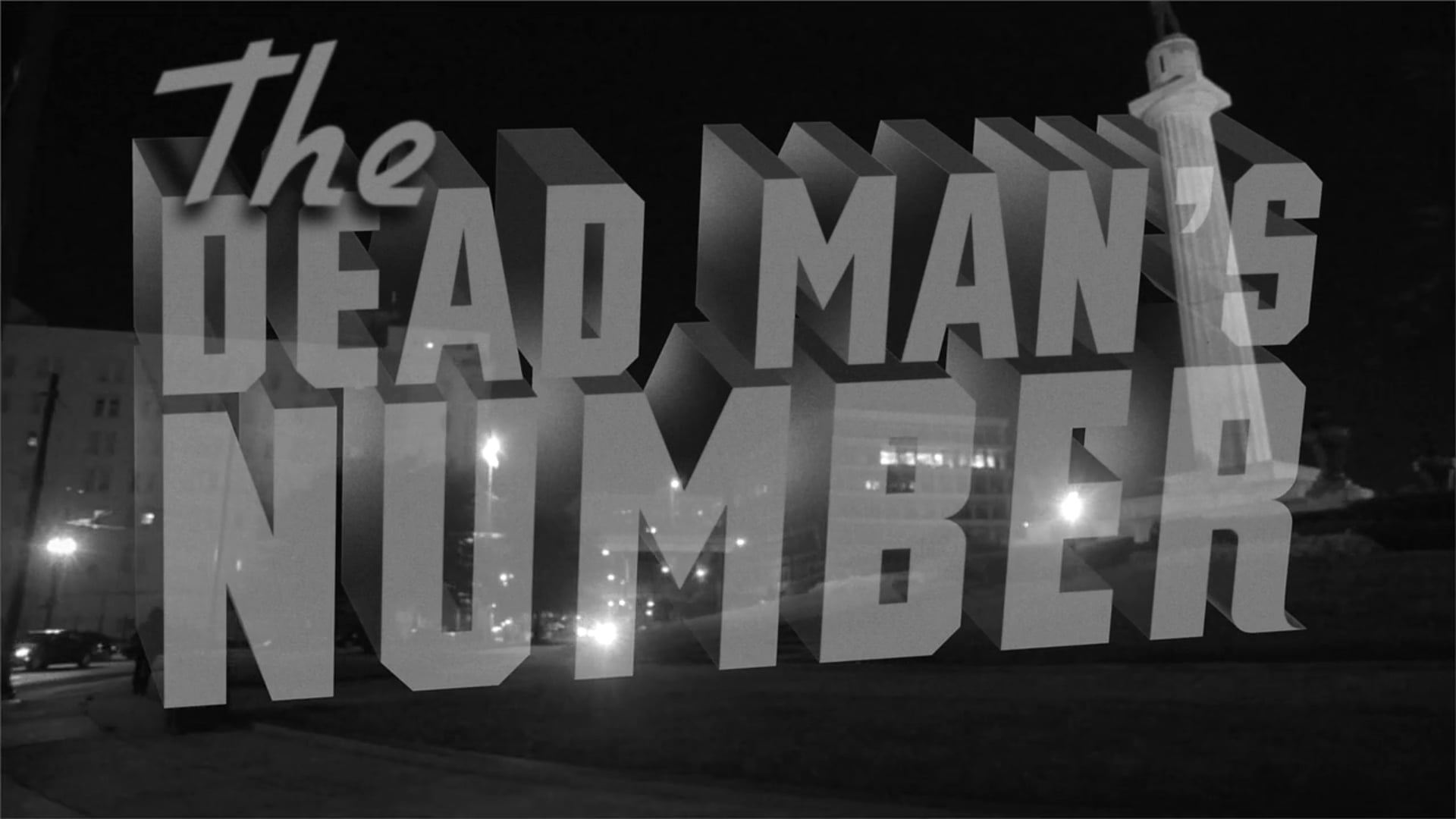 The Dead Man's Number
