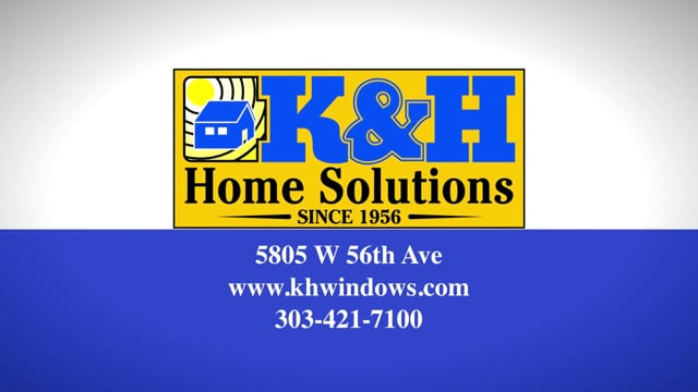Windows Replacement Denver - K&H Home Solutions