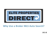 Why Use a Broker MLS Search?