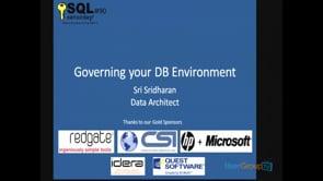 SQL Governance
