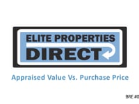 Appraised Value vs Purchase Price