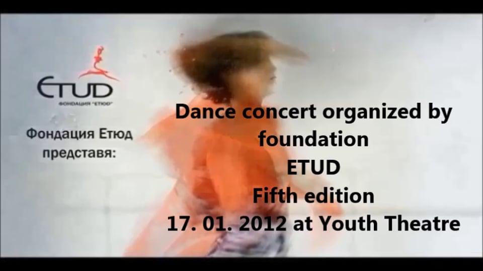 5th edition dance concert Etud