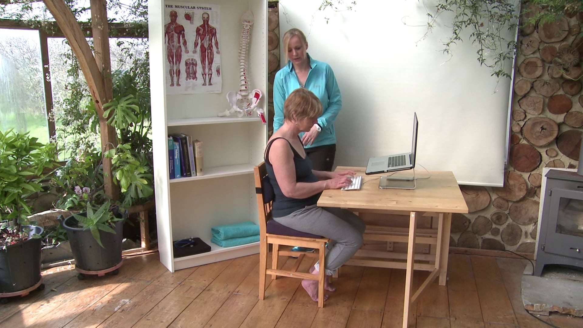 Posture and set up for your workspace