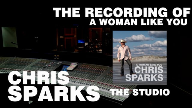Chris Sparks - The Recordng of A Woman Like You - Studio Tour - Starstruck Studios