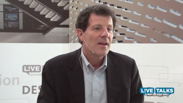 Nicholas Kristof at Live Talks Business Forum; in conversation with John Kobara