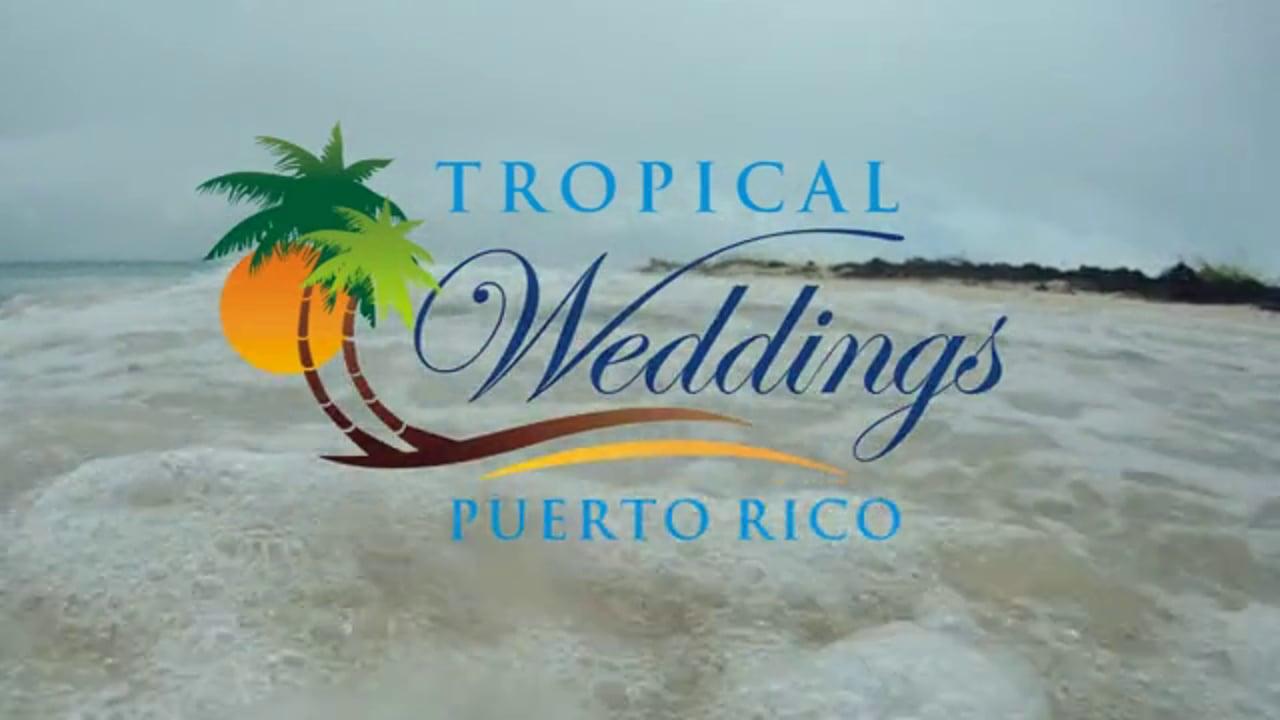Tropical Weddings Puerto Rico ~ Destination Wedding @ Hacienda Siesta Alegre