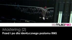 Purple Lament - Przed i po masteringu (RMS const.)