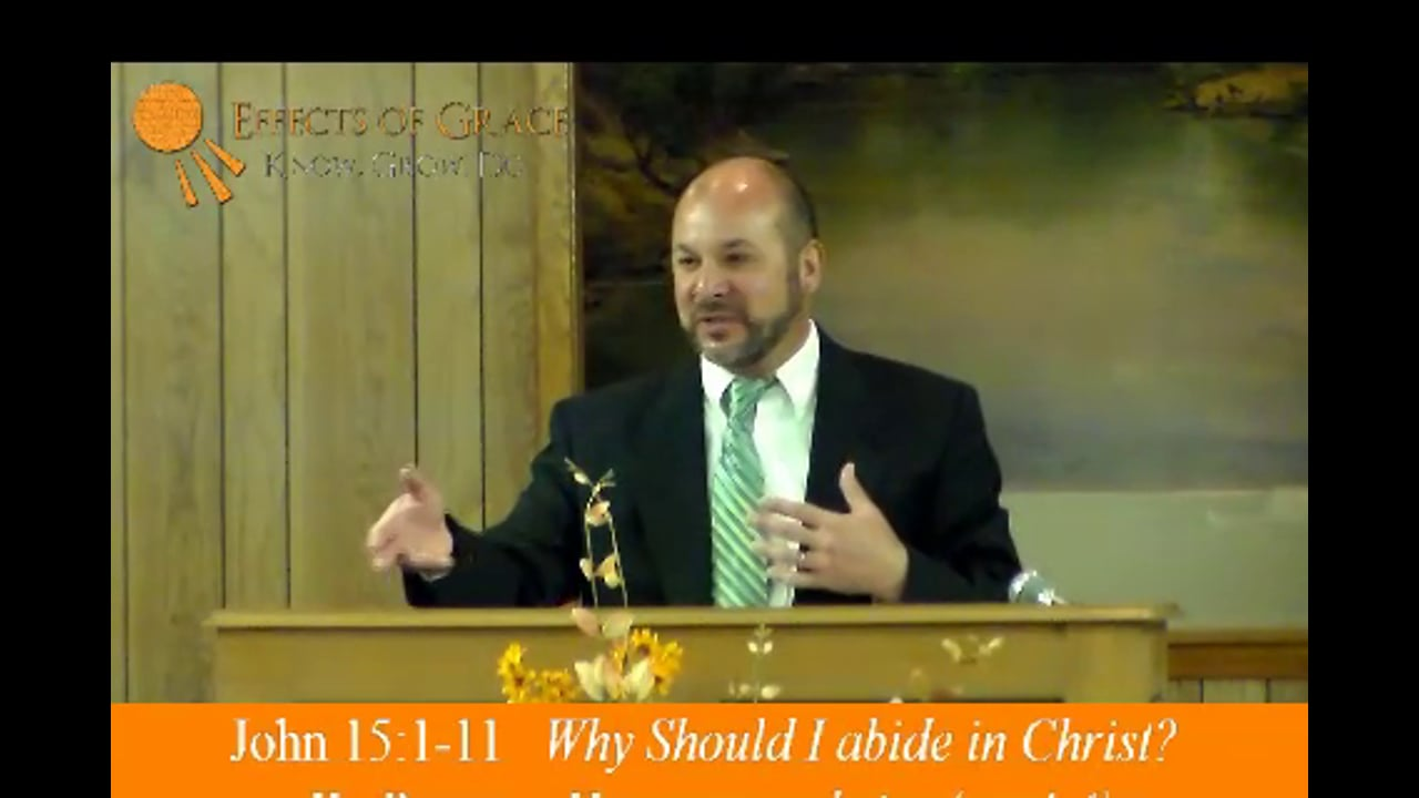 Worried About Your Ability to Abide in Christ Tomorrow? (1 min, 12 sec.)