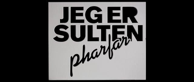 Pharfar - Jeg Er Sulten (Danish Music Video)