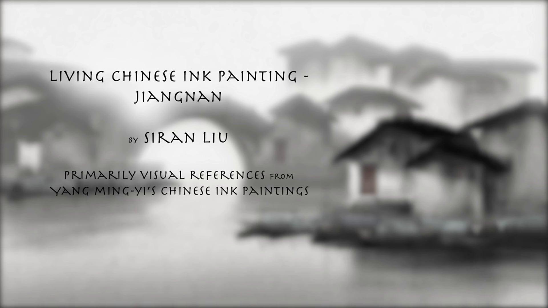 Living Chinese Ink Painting - Jiangnan