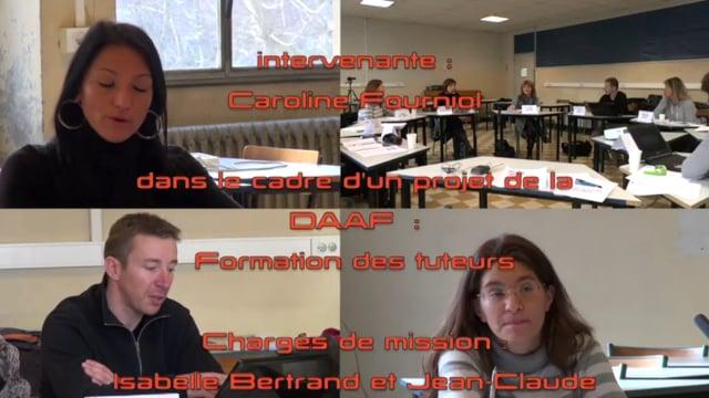Un groupe de tuteurs analyse sa pratique