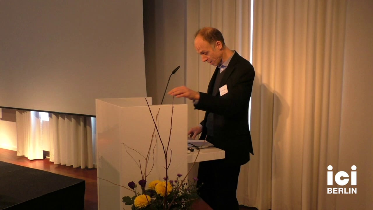 Welcome by Christoph Holzhey [1]
