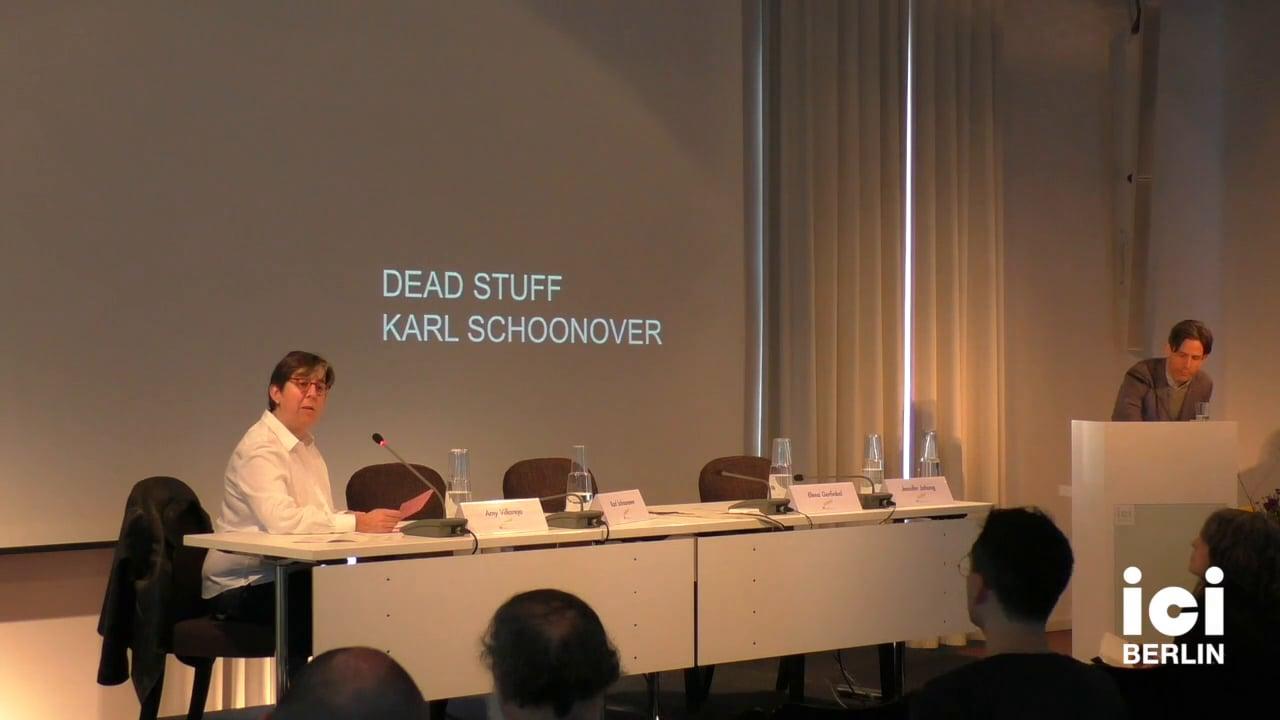 Introduction of Karl Schoonover by Amy Villarejo [5]