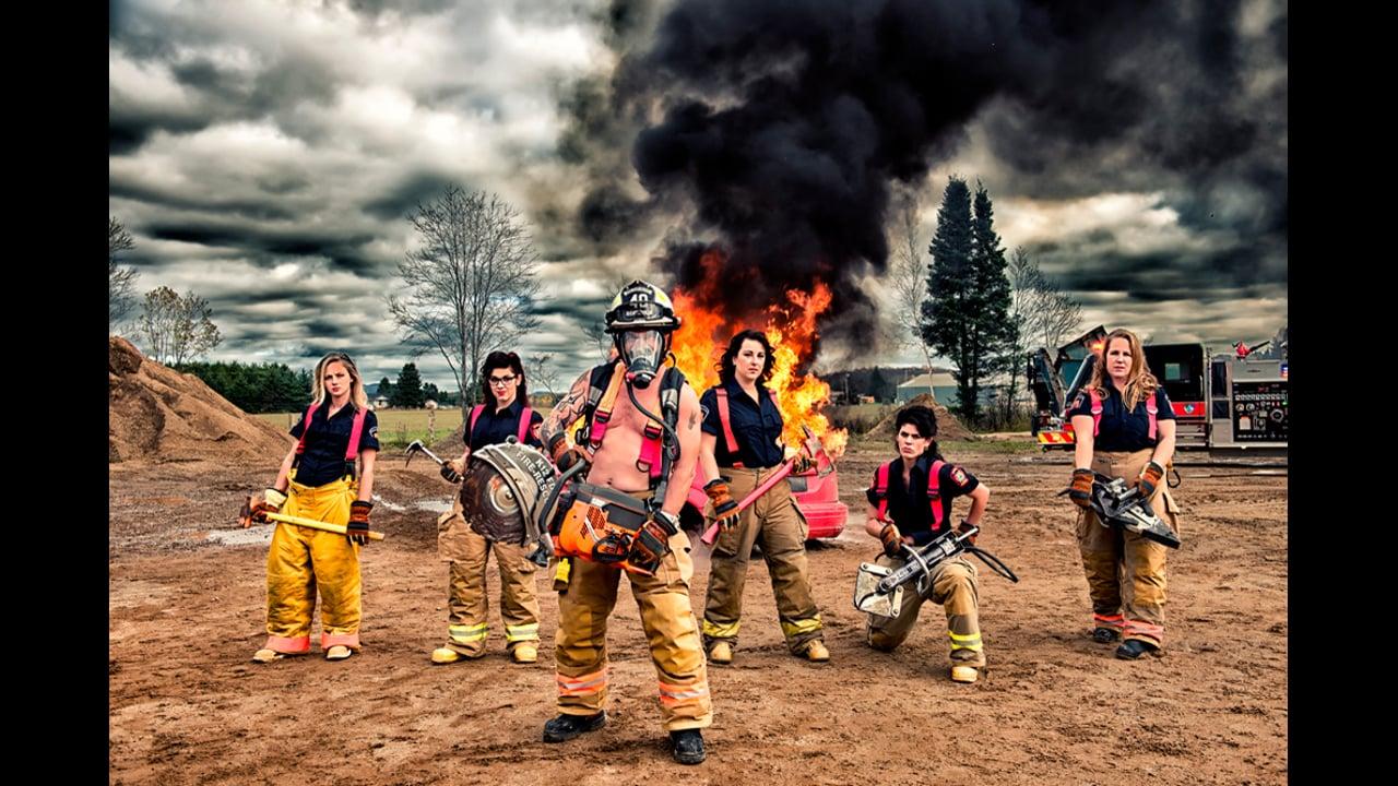 Calendrier Pompiers - Behind the Scene, Fondation des Maladies du Coeur