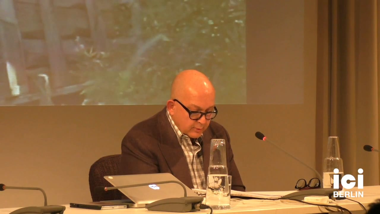 Talk by Laurence Rickels [2]