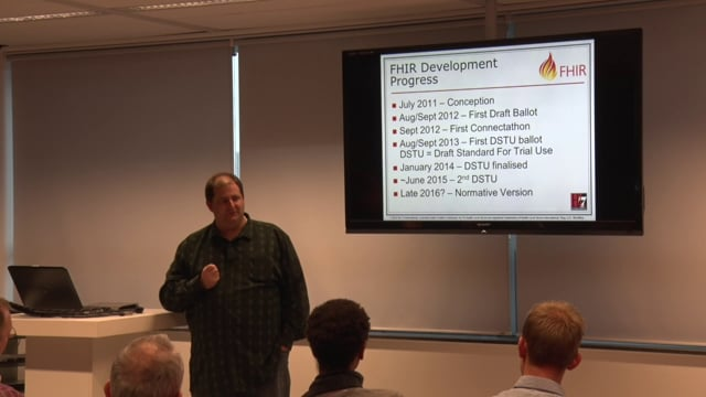 Grahame Grieve - Keynote, The Future of FHIR