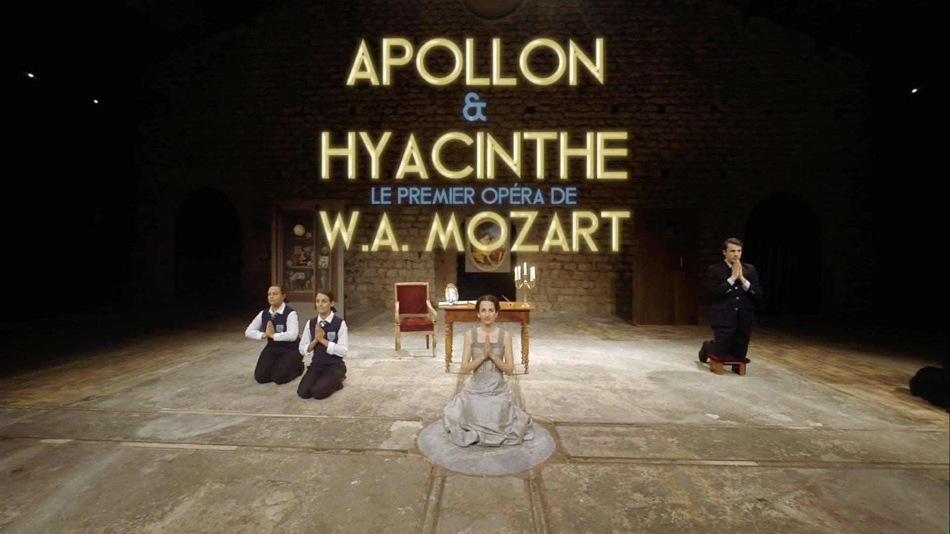 Bande Annonce Apollon & Hyacinthe de Mozart - Cie L'Opéra Pourquoi Pas ?