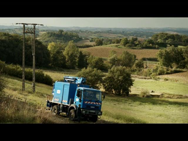 ERDF / Mise en scène de situation d'accident