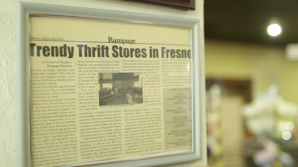 Neighborhood Thrift // Introduction