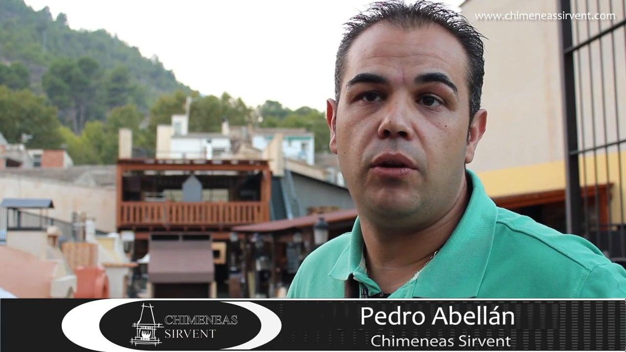Opinión de cliente Chimeneas Sirvent, Pedro Abellán