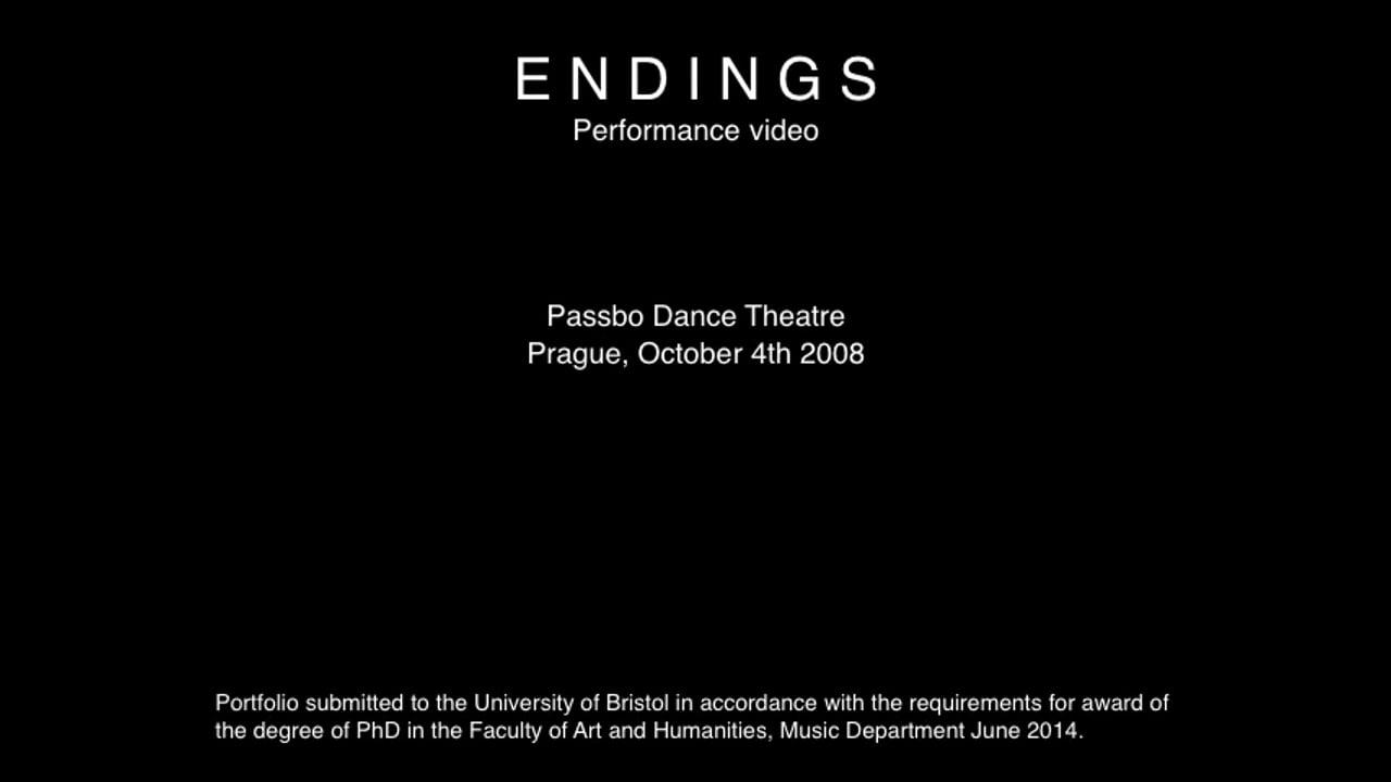 §4 Endings - performance video [Prague 04:10:08]