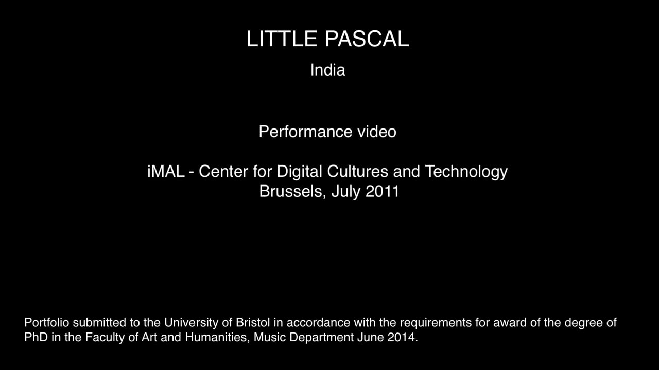 §5 Section 2 - Performance India [Brussels 25:07:11]