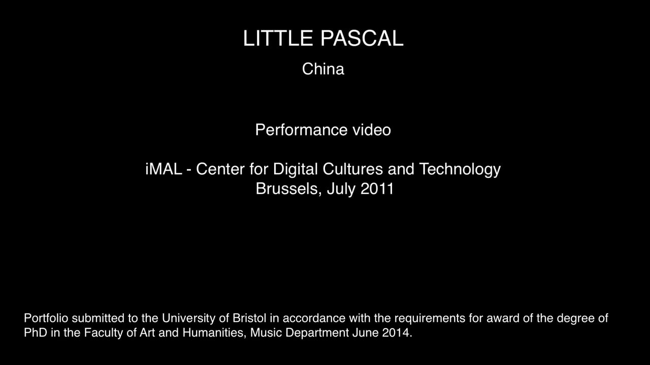 §5 Section 3 - Performance China [Brussels 25:07:11]