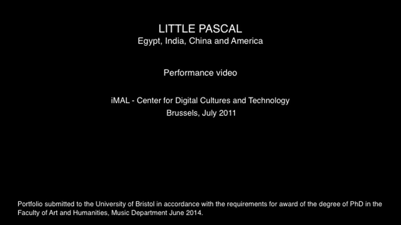 §5 Short edit - Performance & explanatory comments -  [Brussels 25:07:11]