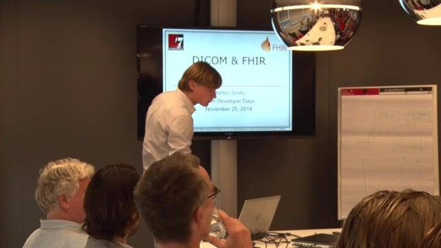 Marten Smits - FHIR and DICOM