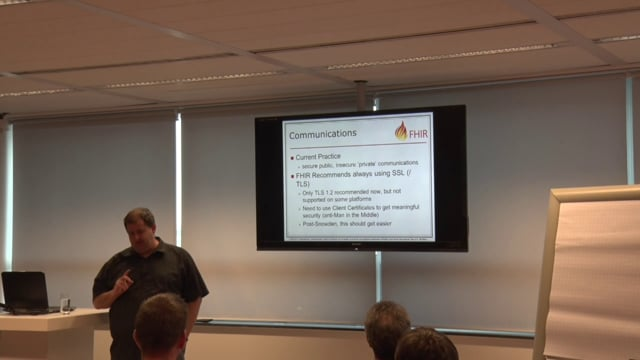 Grahame Grieve - Security in FHIR with OAuth