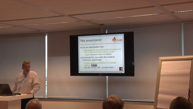 Lloyd McKenzie - Rolling out FHIR, Architecture and Implementation Considerations