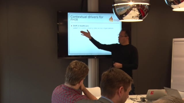 René Spronk - FHIR architecture overview for non-programmers