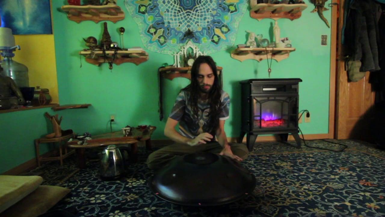 Initiation - Improvised Halo Drum by Elijah
