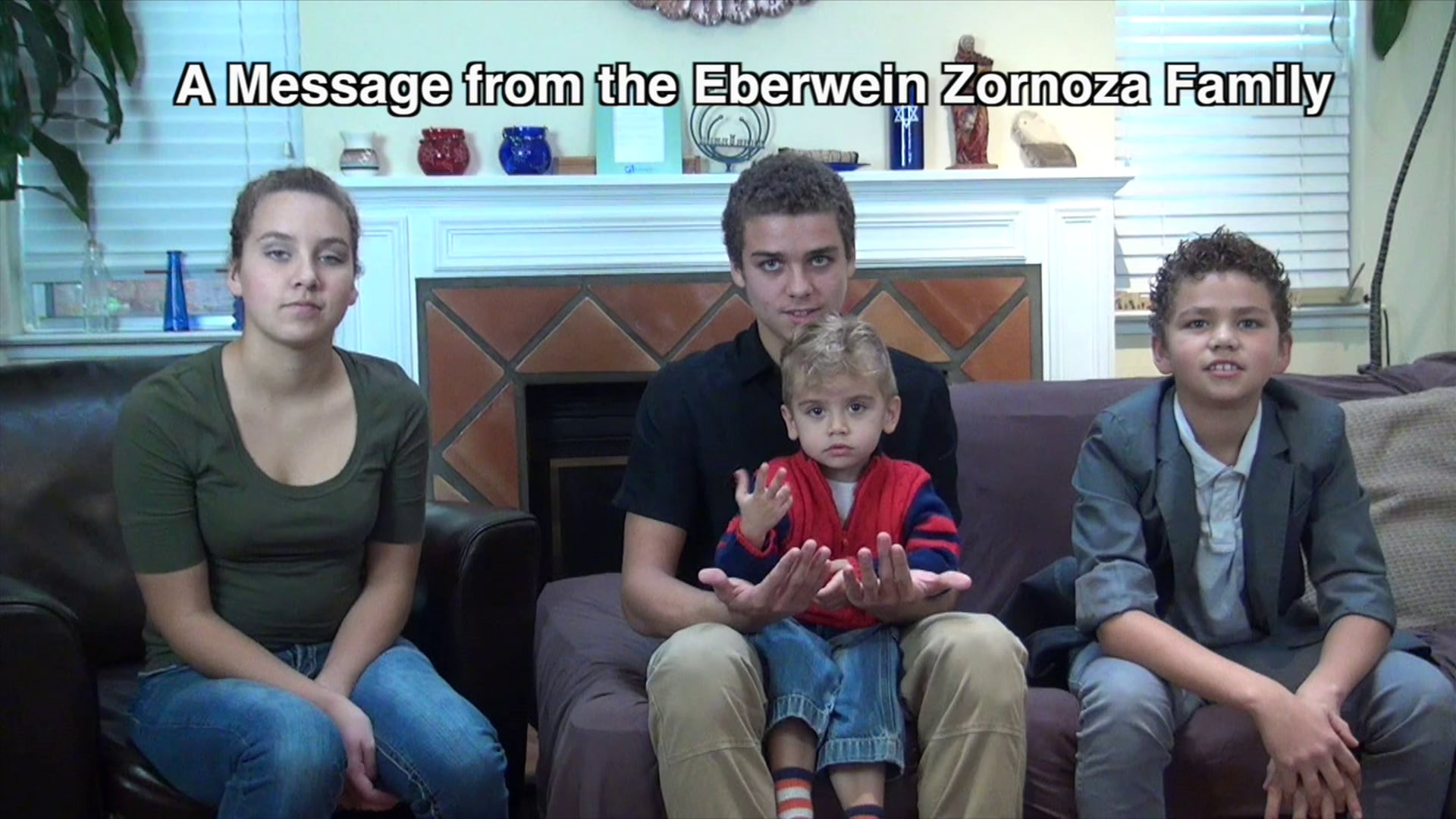 Year-End Appeal by the Eberwein-Zornoza Family