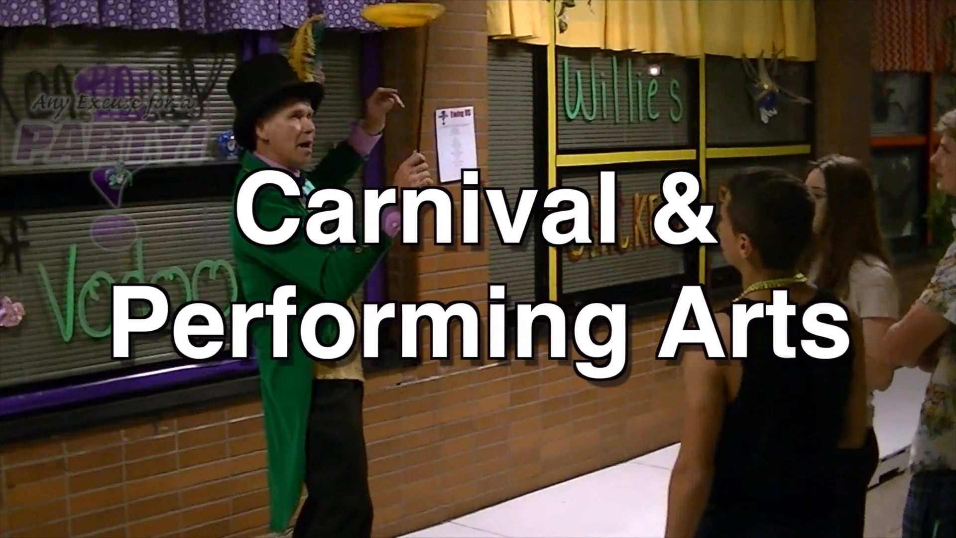 Carnival Performers // Any Excuse For A Party!