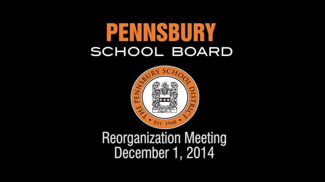 Pennsbury School Board Meeting for December 1, 2014